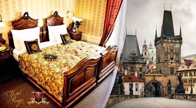 Fotka zľavy: Luxusné ubytovanie v centre Prahy v historickom Hoteli PRAGA 1885**** pre dvoch s raňajkami v izbe Superior za bezkonkurenčnú cenu za 39,50€ alebo za 49,50€ až do 27.12.2014!