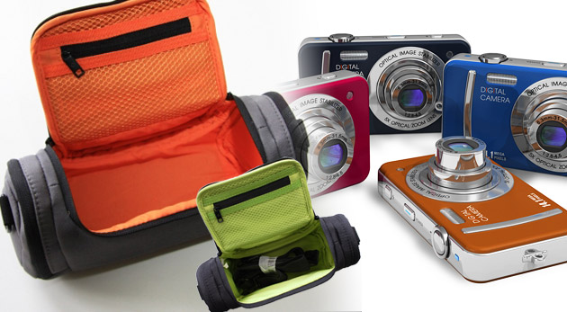 Fotka zľavy: Kvalitné puzdro značky Samsonite na fotoaparát a kameru len za 7,99€ s množstvom vreciek a odkladacích priestorov. Dôverujte renomovanej značke, ktorá s ľuďmi cestuje po celom svete! Zľava 82%.