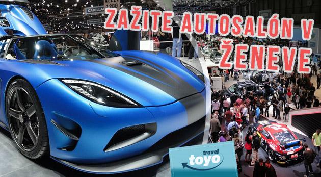 Navštívte svetoznámy autosalón v Ženeve - International Motor Show 2014. Ideálny darček pre každého motoristu!