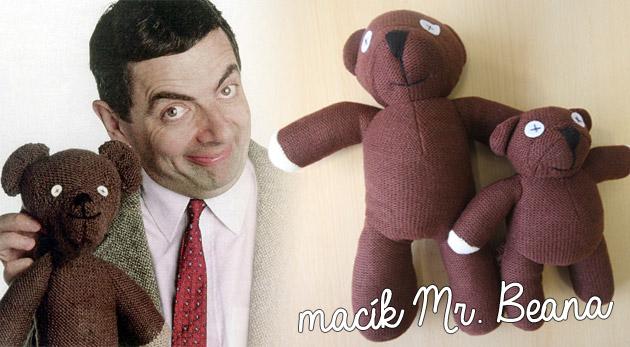 Medvedík Mr. Beana - plyšová filmová hviezda pre deti aj dospelých, ktorá vás nikdy neopustí.