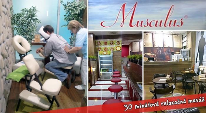 30 minútová klasická masáž cez oblečenie len za 1,99€! Už sa nemusíte vyzliekať a strácať svoj čas, naopak šetrite nielen čas, ale aj svoje peniaze. Teraz so 75% zľavou!