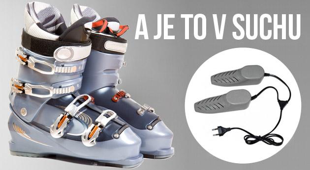 STOP vlhkosti vo vašej obuvi! Elektronický prenosný sušič vhodný do každej topánky.
