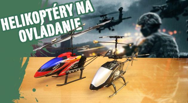 RC helikoptéra s LED svetlom za 19,90€
