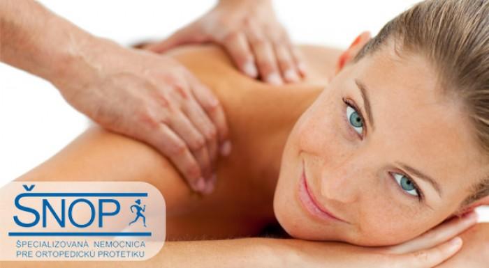 Celotelová masáž alebo masáž s termo zábalom