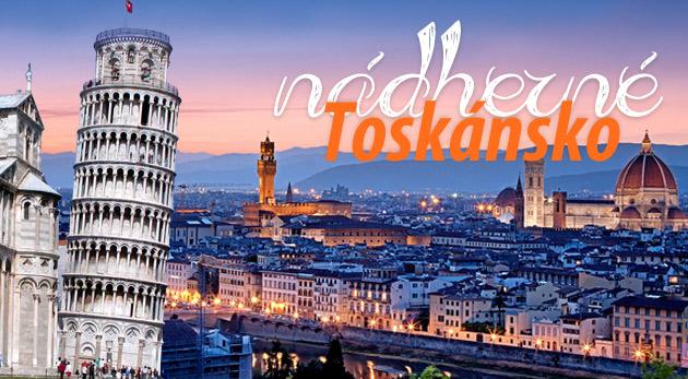 Vydajte sa do nádherného Toskánska - 4-dňový zájazd s Toyo Travel.