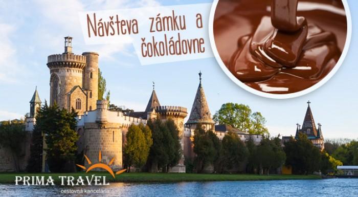 Deň v Rakúsku - zámok Sissi, čokoládovňa, plavba