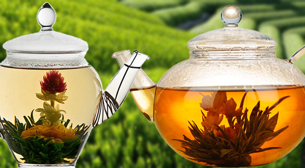 Osviežujúci kvitnúci čaj. Podarujte si krásu v čajníku prinášajúcu relax a príjemné chvíle pohody.