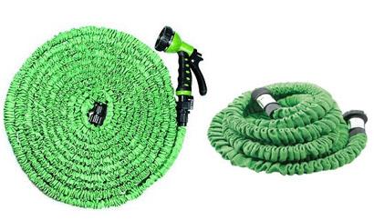 Elastická záhradná hadica, dĺžka 15m, zelená farba