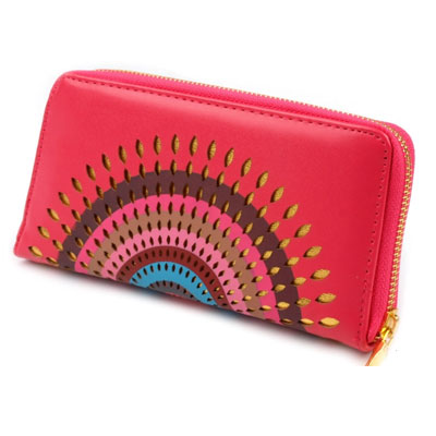 Peňaženka Mandala - ružová