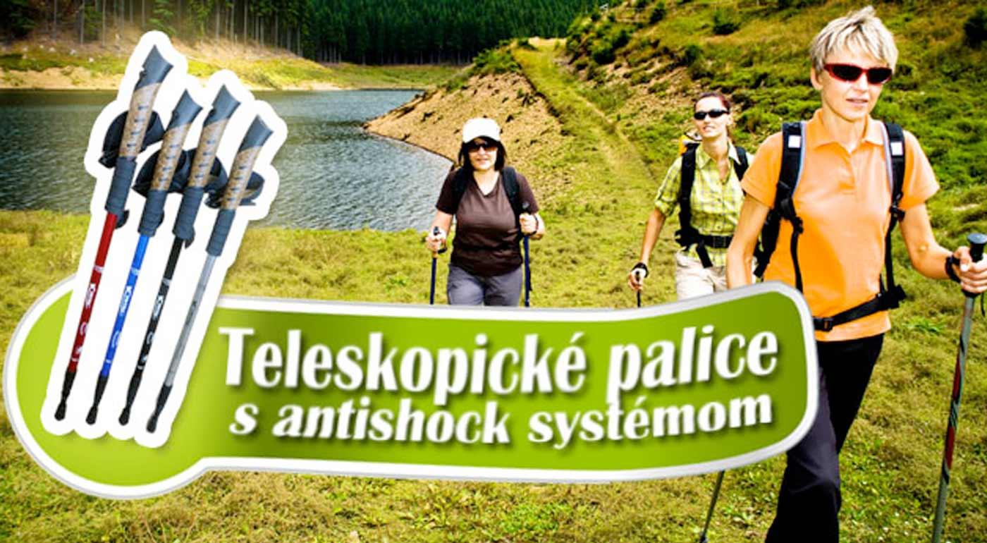 Trekingové teleskopické palice už od 8,99 €. Nedoceniteľná turistická pomôcka do každého terénu. Na výber 2 typy v rôznych farbách. Možnosť osobného odberu v centre Bratislavy.