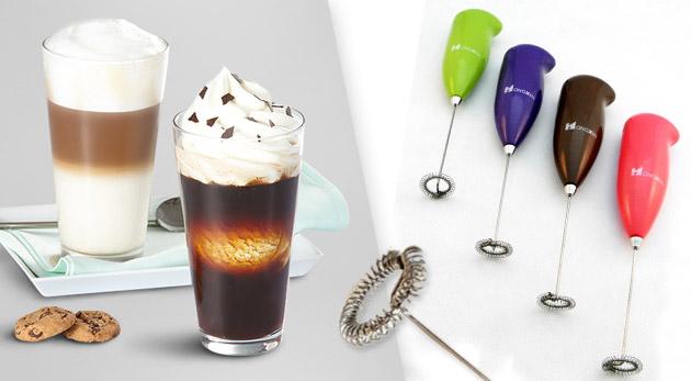 Šľahač mlieka - pripravte si vašu obľúbenú kávu so vždy dokonale nadýchanou mliečnou penou!