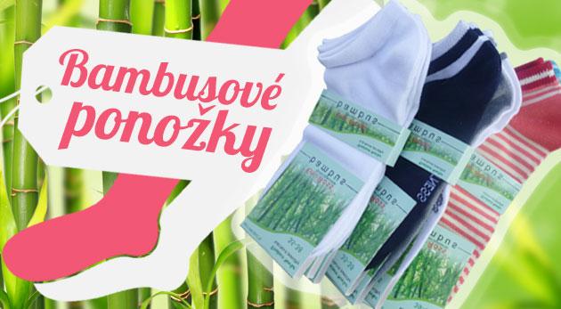 Bambusové ponožky dámske - 9 párov, veľkosť 35 - 38 za 8,90€