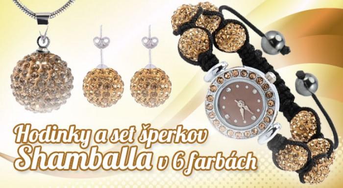 Hodinky a súprava šperkov Shamballa