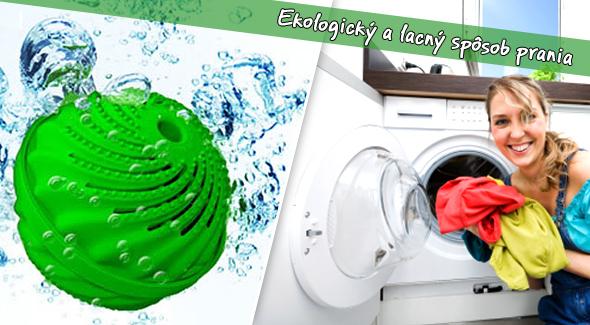 Pracia guľa Sunshine vrátane poštovného a balného. Od teraz bude pranie lacné a ekologické.