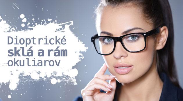 d50d209d3 Dioptrické jednoohniskové stenčené sklá, meranie zraku lekárom, servis  okuliarov a špeciálna zľava na rám