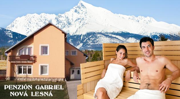 Pobyt pre dvojicu na 3 alebo 4 dni vo Vysokých Tatrách s polpenziou, saunou a masážou! Deti do 3 rokov ZADARMO!