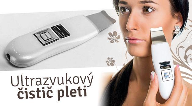 Ultrazvukový čistič pleti - omladenie a hĺbkové čistenie pleti v pohodlí domova! Zdravie a hebkosť pre vašu pleť.