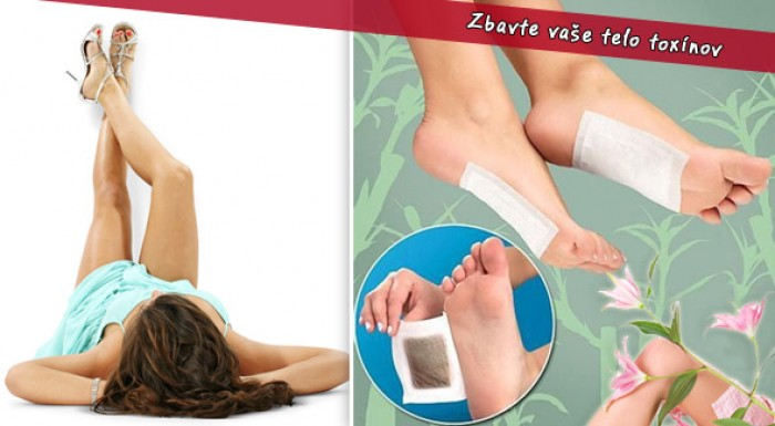 Balenie detoxikačných náplastí KINOKI. Zbavte vaše telo nahromadených toxínov.