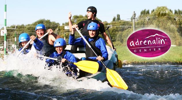 Adrenalínový rafting na umelom vodnom kanáli v Liptovskom Mikuláši a skvelý relax pri voľnom vstupe na Adventure golf