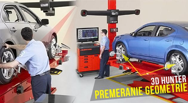 Kompletné premeranie geometrie vášho automobilu v servise Autopartner BMP