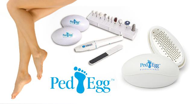 PED EGG dvojbalenie s elektrickým pilníkom pre dokonalé ošetrenie chodidiel