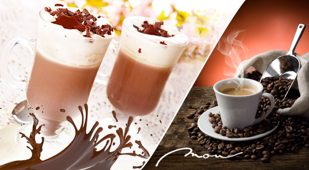 100% arabica káva alebo vynikajúca čokoláda v centre Bratislavy pod Michalskou bránou