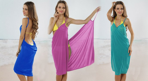 Plážové letné šaty s motívom Hawaii za 6 e9aed6d894c