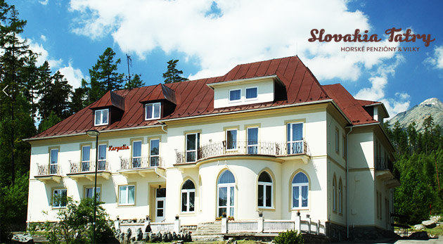 3-dňový pobyt pre 1 osobu s polpenziou, welcome drinkom a ďalšími zľavami v Penzióne Karpatia v Tatranskej Lesnej za 39€