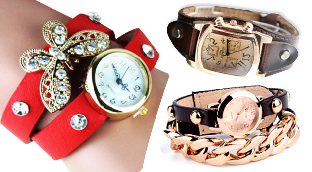 23bf96c735 Ozdobné hodinky s náramkom - klasika i originalita