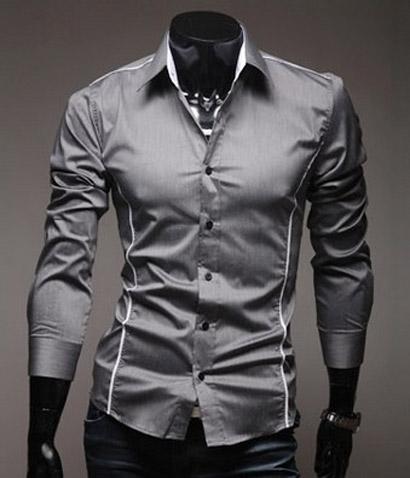 89d2f606612c Pánska slim-fit košeľa