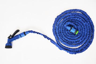 Elastická záhradná hadica, dĺžka 15m, modrá farba