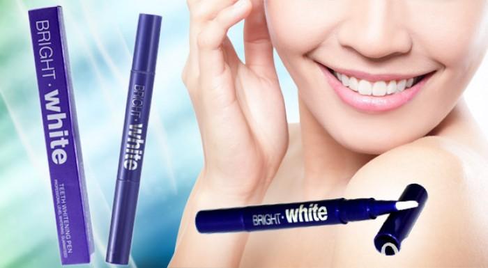 Prírodné bieliace pero na zuby pre dokonalý chrup