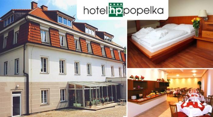 Komfort a luxus v Hoteli Popelka**** v Prahe