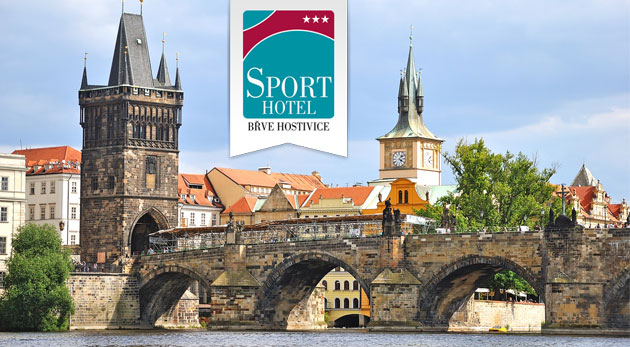 Športovo-relaxačný pobyt pre dvojicu v Prahe v 3* Sporthotel Hostivice. Platnosť až do 15.9.2014!