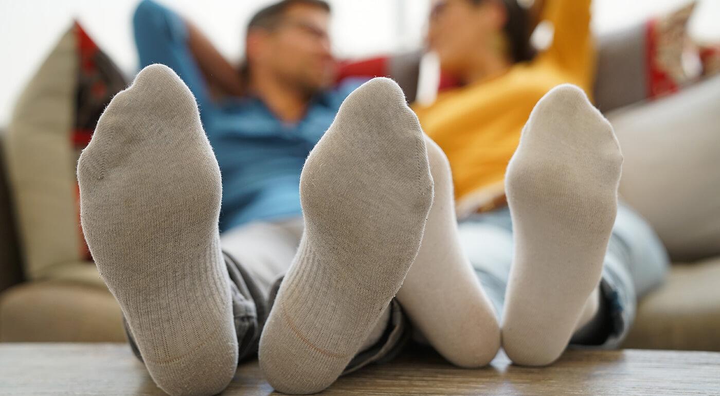 Dámske alebo pánske bavlnené ponožky - mix 5 alebo 9 párov