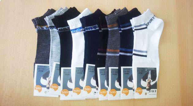 Ponožky pánske - 5 párov, veľkosti 39 - 42