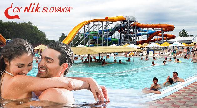Letný pobyt na 4 alebo 5 dní pre 4 osoby v areáli termálneho kúpaliska Vadaš Štúrovo so vstupmi do bazénov zdarma. NOVÉ prázdninové TERMÍNY!