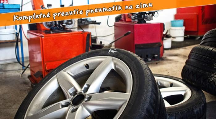 Zimné prezutie pneumatík Maxpneu-servis Petržalka