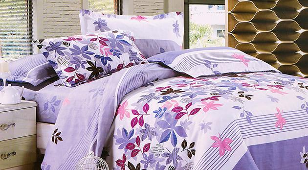 Kvalitná 7-dielna posteľná bielizeň z česanej priadze. Na výber zo 14 nádherných vzorov!