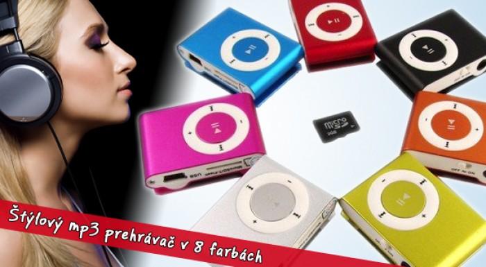 MP3 prehrávač MINI vrátane poštovného