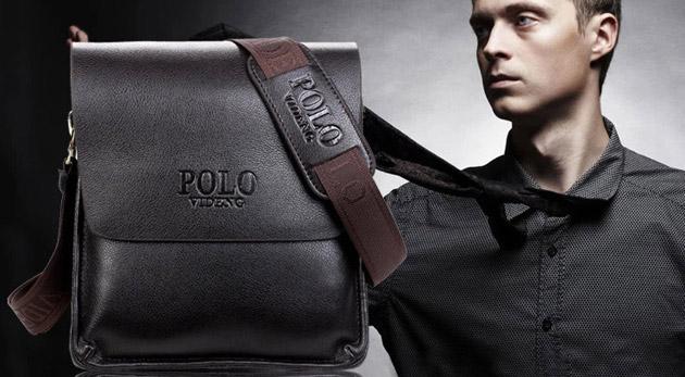2ccd0ce308 Elegantné pánske tašky POLO vigent na prechádzky i do práce