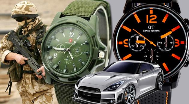 Pánske hodinky značky Gemius ARMY zelené za 7 12988a4cbce