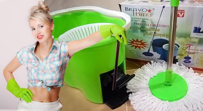 Magic Mop 360º s náhradnou textilnou hlavicou