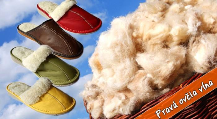 Papuče, ľadvinový pás alebo vesta z pravej ovčej vlny.