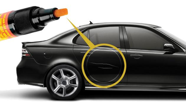 Dve profesionálne korekčné perá na zahladenie škrabancov na aute na každú farbu laku