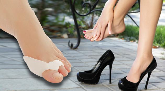 Balenie - 2 ks silikónovej ortopedickej pomôcky na zmiernenie vybočujúceho palca (na pravú aj ľavú nohu) za 4,99€