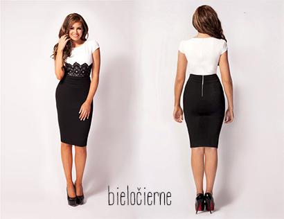 Elegantné dámske šaty - 4 modely  68df0ddb760