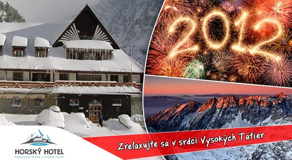 Fotka zľavy: Silvester priamo medzi tatranskými končiarmi - 5 dní len za 139€. Horský hotel* Popradské Pleso - ubytovanie, polpenzia, sauna, silvestrovská zábava, transfer + zľava do Aquacity v Poprade.