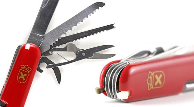 Všestranne využiteľný vreckový nožík pre kutilov i turistov