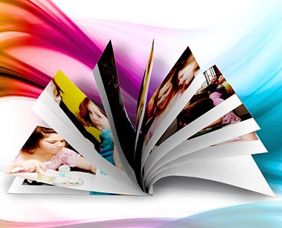 fotokniha s tvrdými doskami